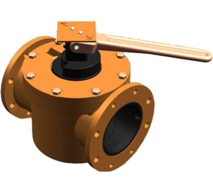 2-Way Valve with Handle